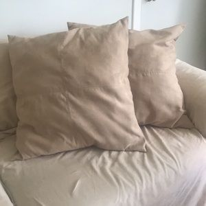 Suede Pillow (set of 2)